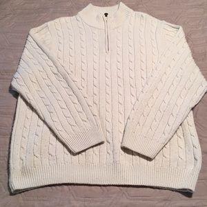 Mock neck sweater size XL
